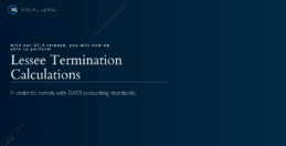 lease terminations