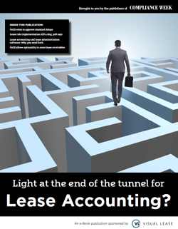 Light at the end of the tunnel for lease accounting?